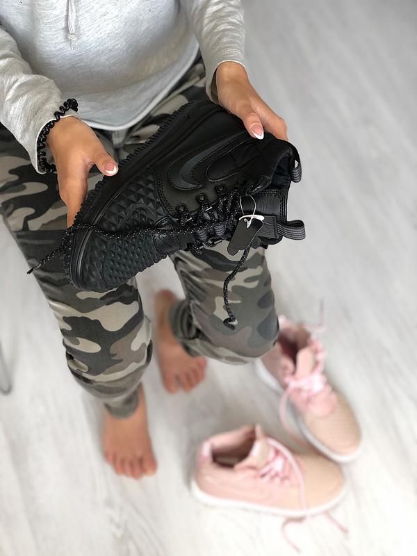 Шикарные кроссовки nike lunar force - Фото 5