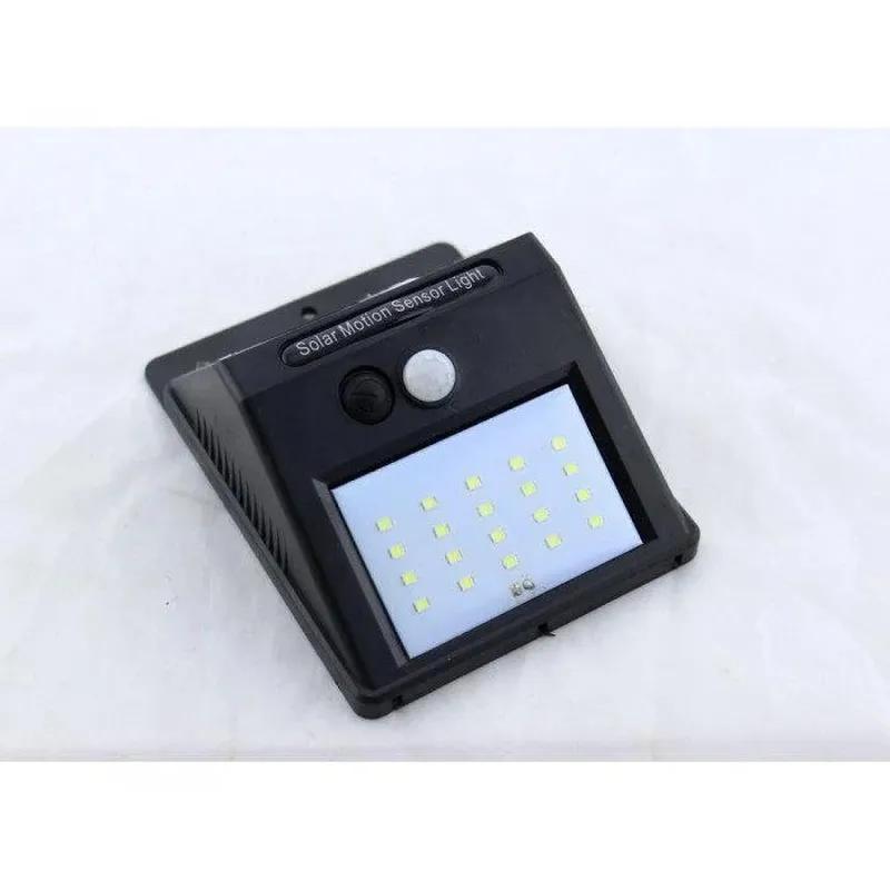 Светодиодный LED фонарь на солнечной батарее с датчиком движения - Фото 2