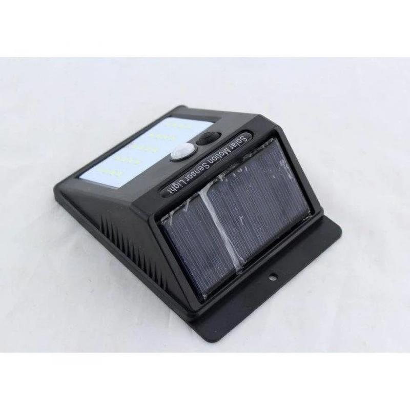 Светодиодный LED фонарь на солнечной батарее с датчиком движения - Фото 3