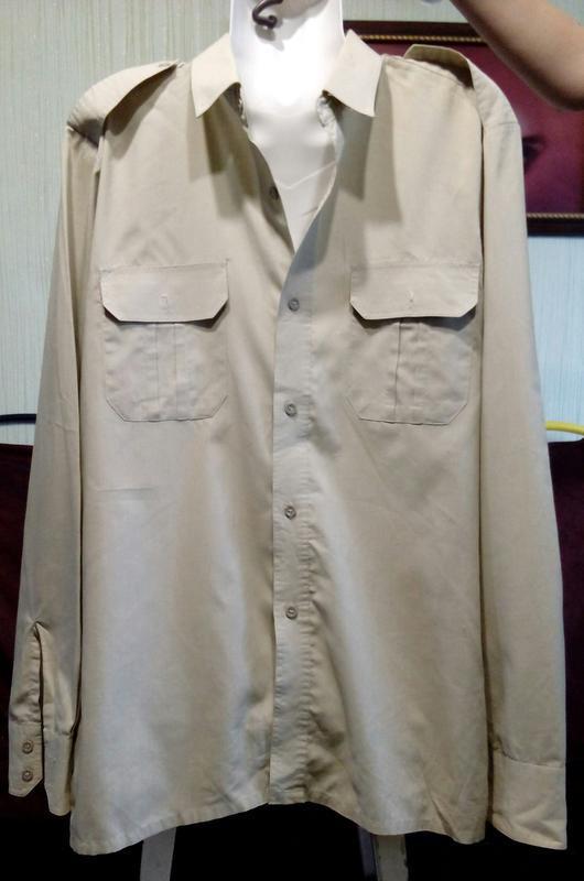 Стильная, элегантная, мужская рубашка  с длинным рукавом. разм...