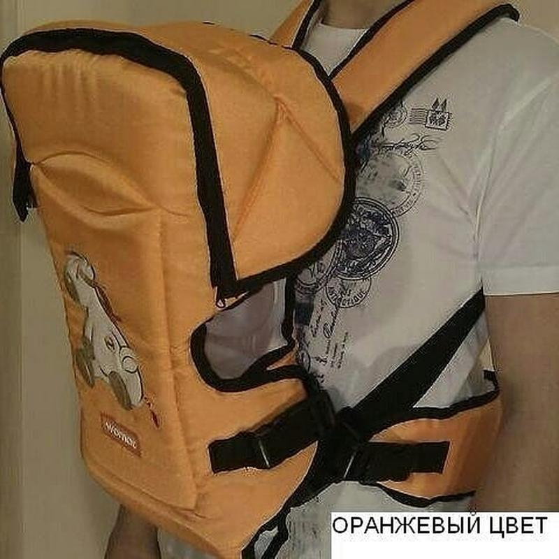 Рюкзак- переноска для детей rainbow 15 excluzive womar (оригинал) - Фото 4