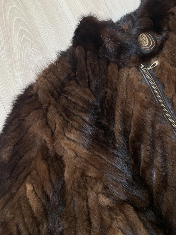 Норковая шуба - Фото 4