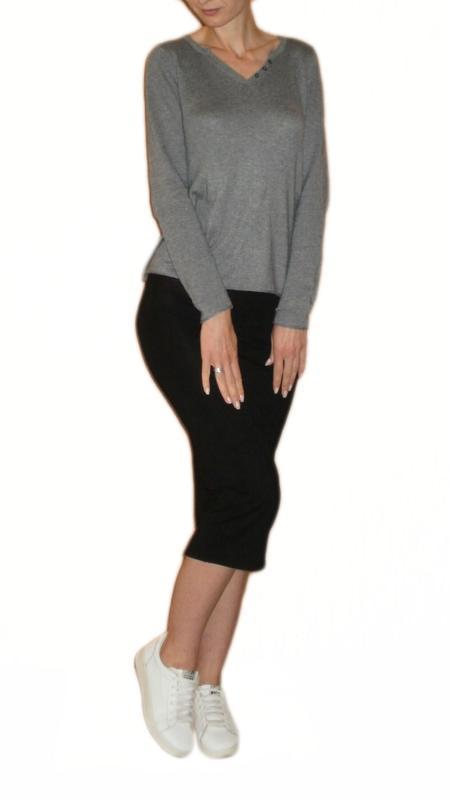 Юбка карандаш миди ниже колена, юбка резинка вискоза размер 8 ...