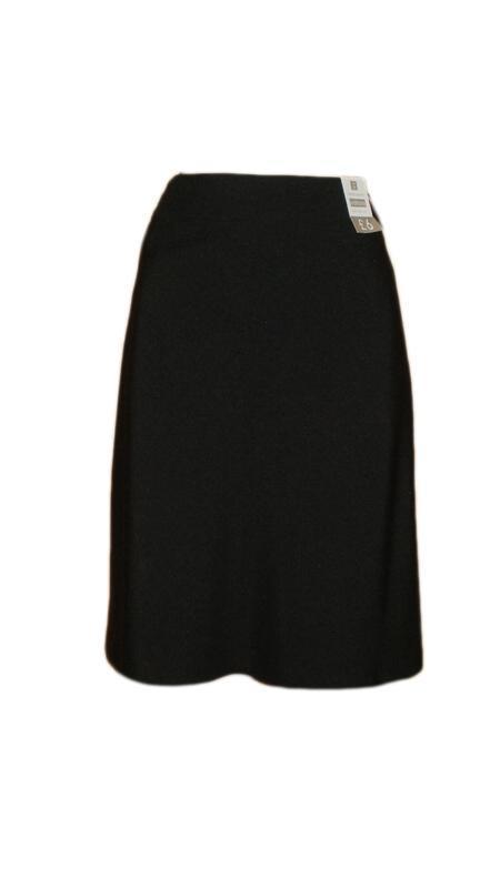 Расклешенная юбка ниже колена миди классическая офис размер 16...