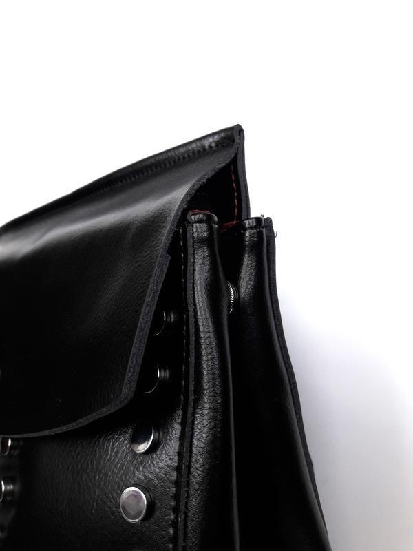 """Женский кожаный рюкзак """"steely"""" черный - Фото 2"""