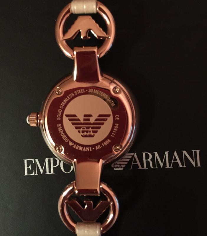 Женские наручные часы Emporio Armani Classic - AR1886 (оригинал) - Фото 4