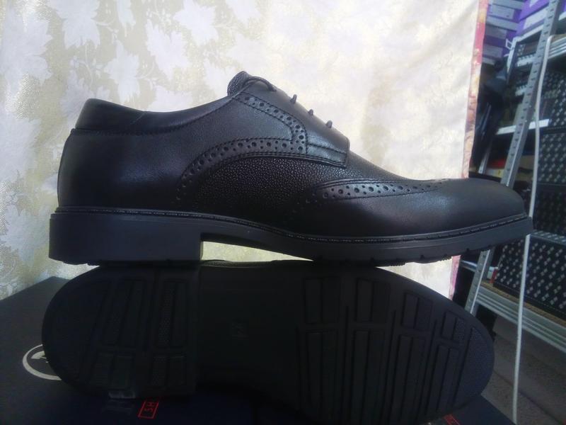 Распродажа!мужские осенние кожаные туфли-броги bertoni 40,41,4... - Фото 7