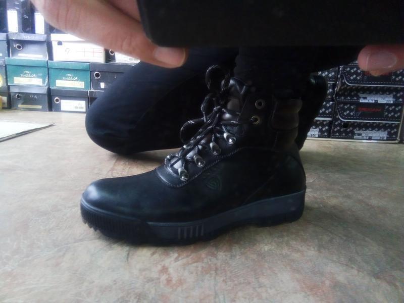 Распродажа!зимние кожаные ботинки под берцы madoks 43 - Фото 3