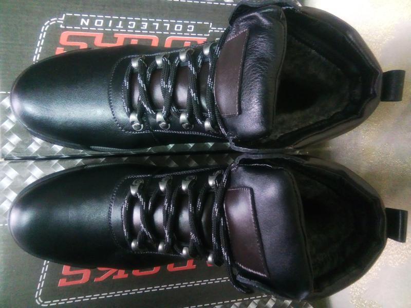 Распродажа!зимние кожаные ботинки под берцы madoks 43 - Фото 4