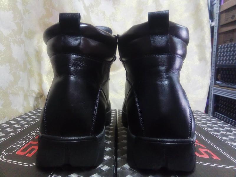 Распродажа!зимние кожаные ботинки под берцы madoks 43 - Фото 5