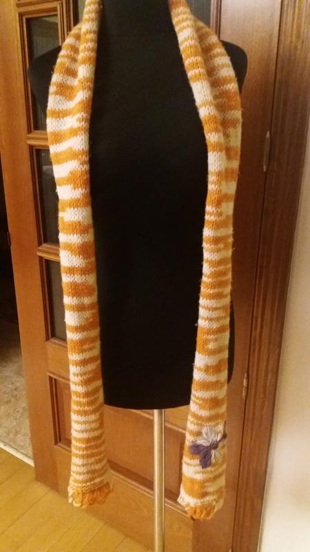 Шерстяной шарф benetton - Фото 2