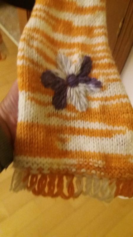 Шерстяной шарф benetton - Фото 3