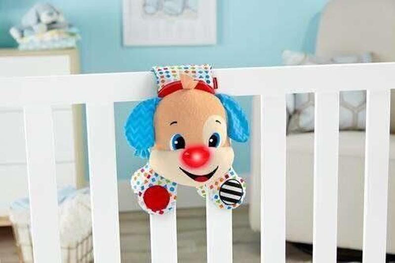 Подвесная игрушка Fisher Price Умный щенок для кроватки на рус - Фото 2