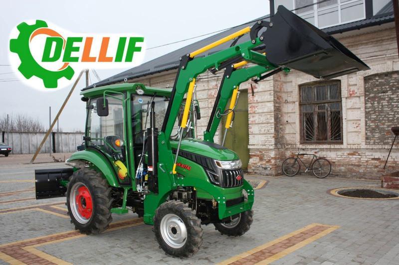Мини-погрузчик Dellif Baby 500 с джойстиком на трактор Kata Ke на ...