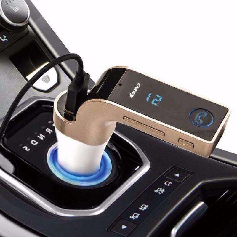 Авто FM модулятор Car G7 Plus Bluetooth , автомобильный - Фото 2