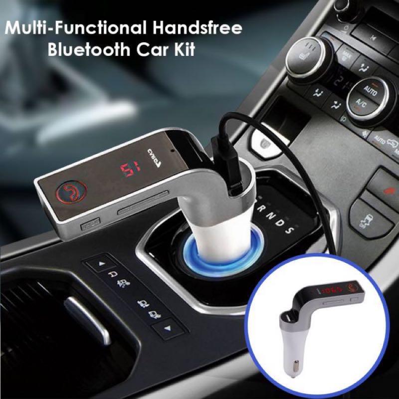 Авто FM модулятор Car G7 Plus Bluetooth , автомобильный - Фото 3