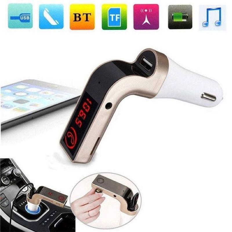 Авто FM модулятор Car G7 Plus Bluetooth , автомобильный - Фото 5