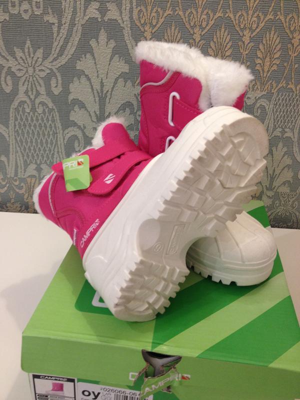 Детские сапоги campri infants snow boots, размер 21. 5 - Фото 3