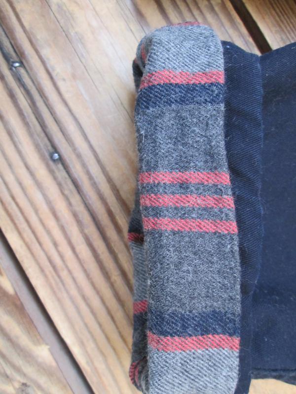 Теплые штаны джинсы gap на 12-18 мес, брюки на байковом подкла... - Фото 2