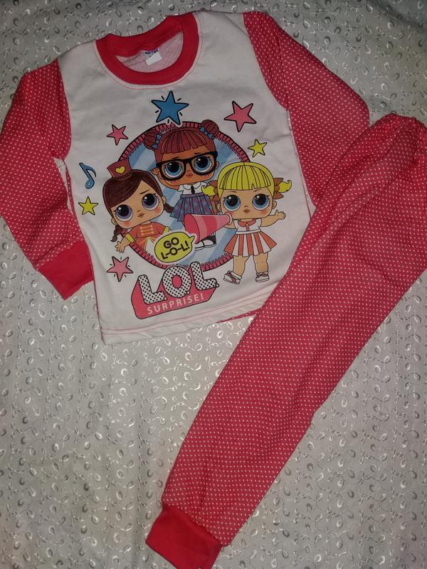 Пижама на девочку начес 92р