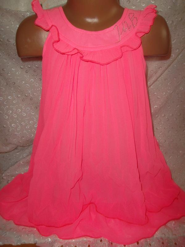 Платье на девочку шифон 116 маломерит