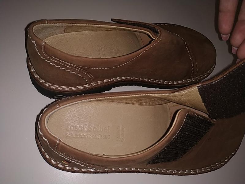 Новые кожаные ортопедические туфли ботинки 38-39 josef seibel - Фото 4