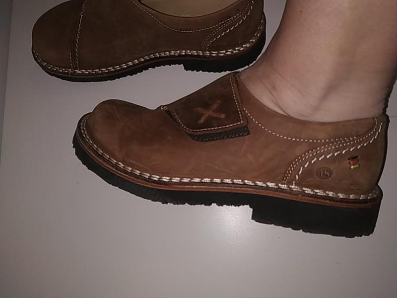 Новые кожаные ортопедические туфли ботинки 38-39 josef seibel - Фото 5