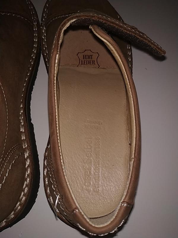 Новые кожаные ортопедические туфли ботинки 38-39 josef seibel - Фото 7