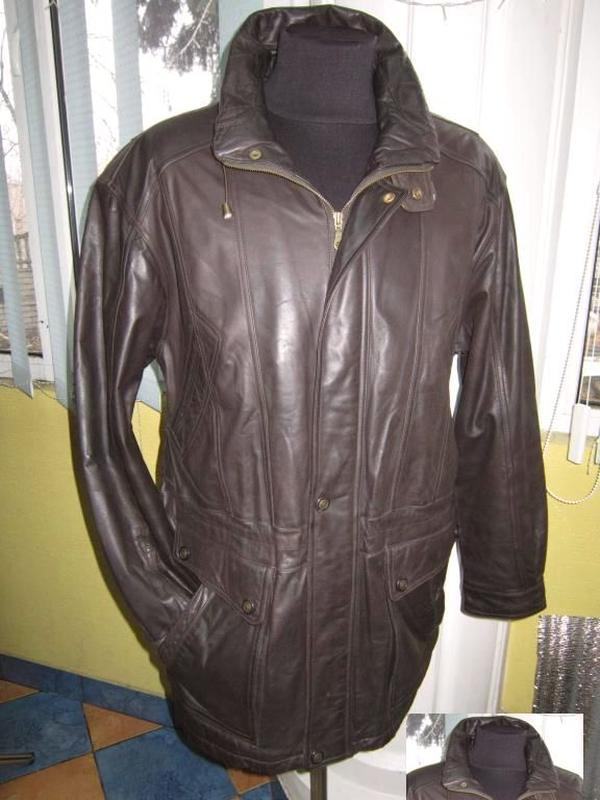 Утеплённая кожаная мужская куртка c.a.n.d.a., c&a. лот 335