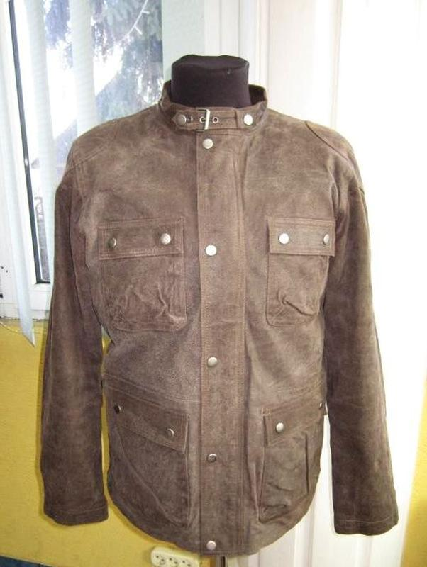 Мотоциклетная кожаная мужская куртка tcm. лот 325