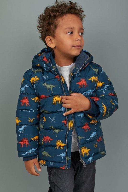 Куртка на мальчика демисезон-еврозима h&m динозавры