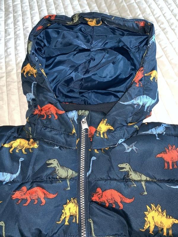 Куртка на мальчика демисезон-еврозима h&m динозавры - Фото 6