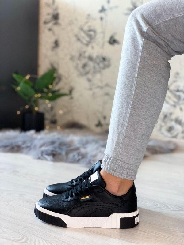 Удобные кроссовки puma cali в черном цвете /весна/лето/осень😍 - Фото 2
