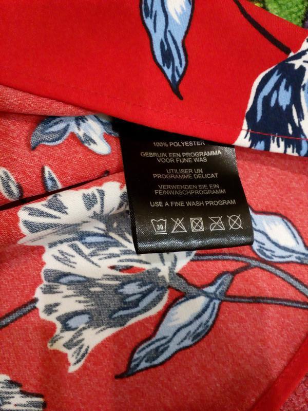 Блуза свободного кроя - Фото 5