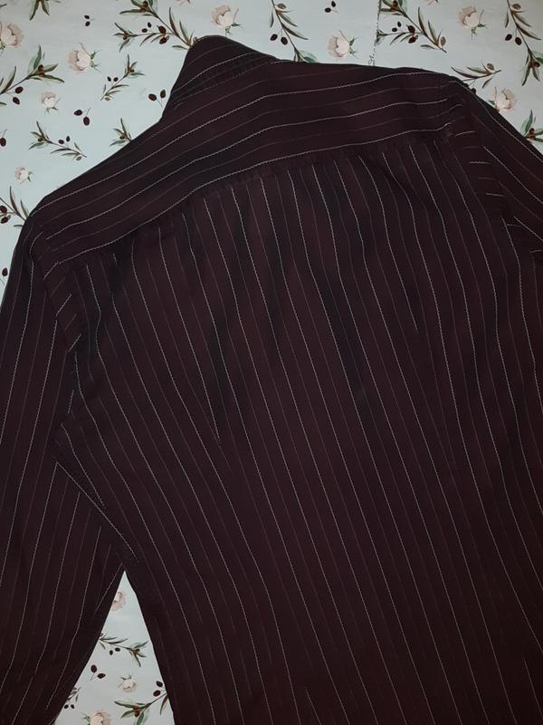 🎁1+1=3 шикарная темная мужская приталенная рубашка dolce&gabba... - Фото 4