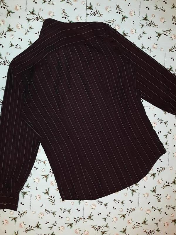 🎁1+1=3 шикарная темная мужская приталенная рубашка dolce&gabba... - Фото 7
