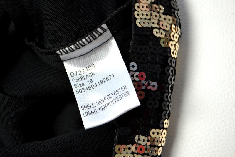 Роскошное платье из пайеток в принт елочка - Фото 8