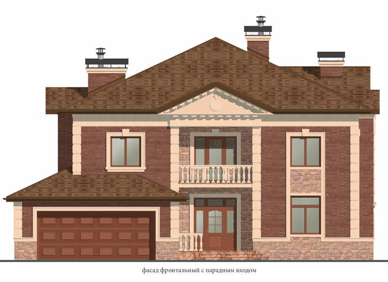 Проект дома ( стадия ЭП ) с 3d за 80 грн. м.кв. - Фото 2