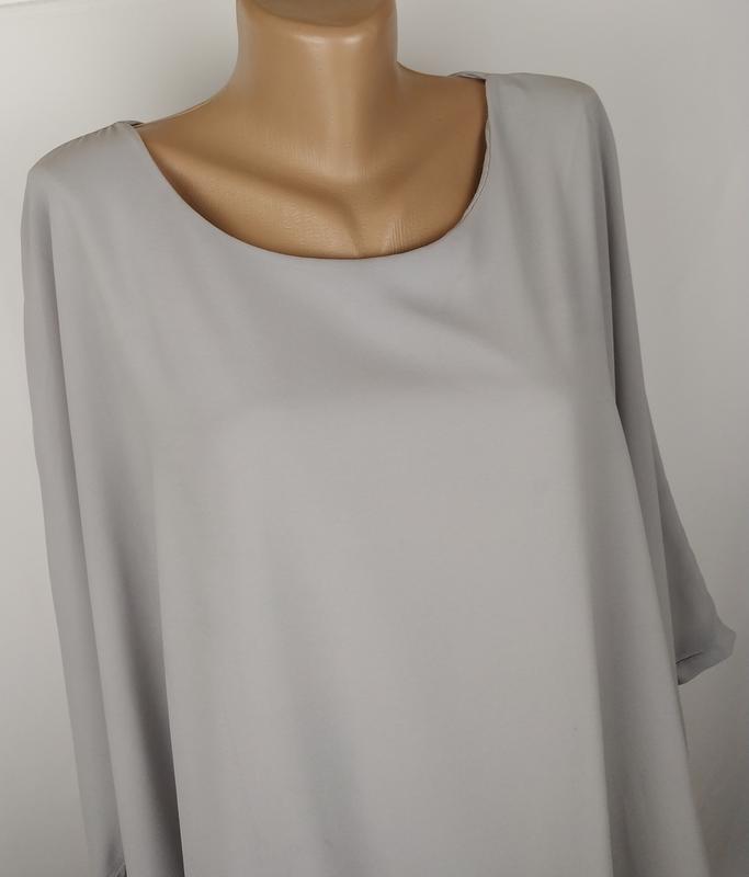 Блуза шикарная итальянская украшена паетками - Фото 2