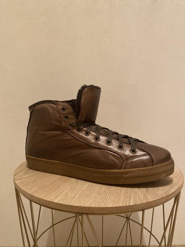 Высокие ботинки италия - Фото 2