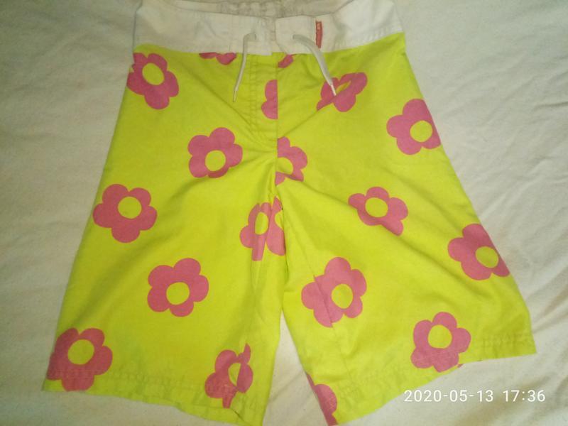 Фирменные шорты trespass девочке 7-9 лет