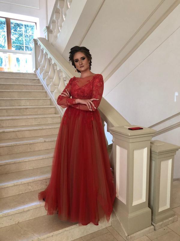 Выпускное платье . Вечернее платье - Фото 3