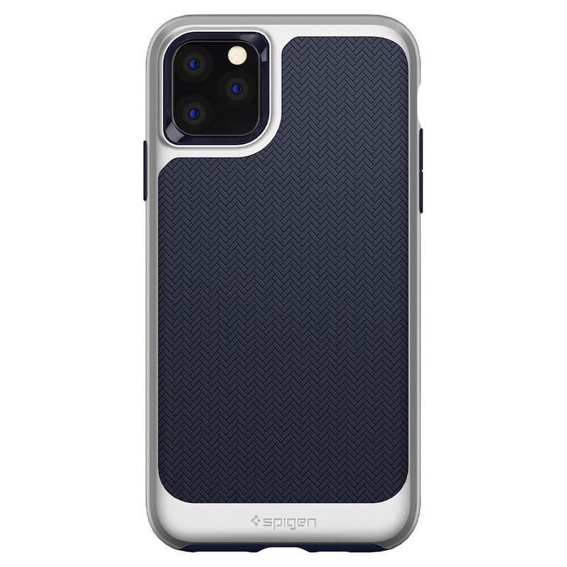 Чехол Spigen Neo Hybrid для iPhone 11 Pro Arctic Silver - Фото 2