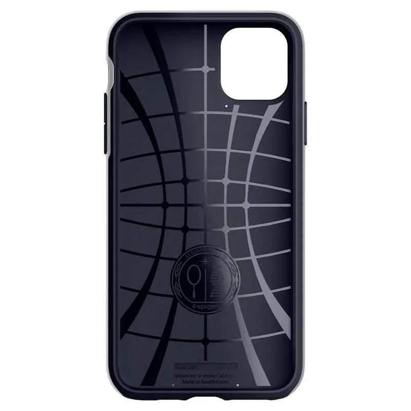 Чехол Spigen Neo Hybrid для iPhone 11 Pro Arctic Silver - Фото 4