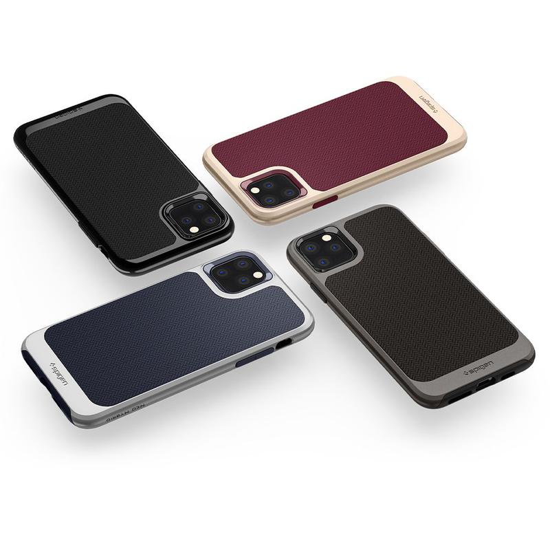 Чехол Spigen Neo Hybrid для iPhone 11 Pro Arctic Silver - Фото 7