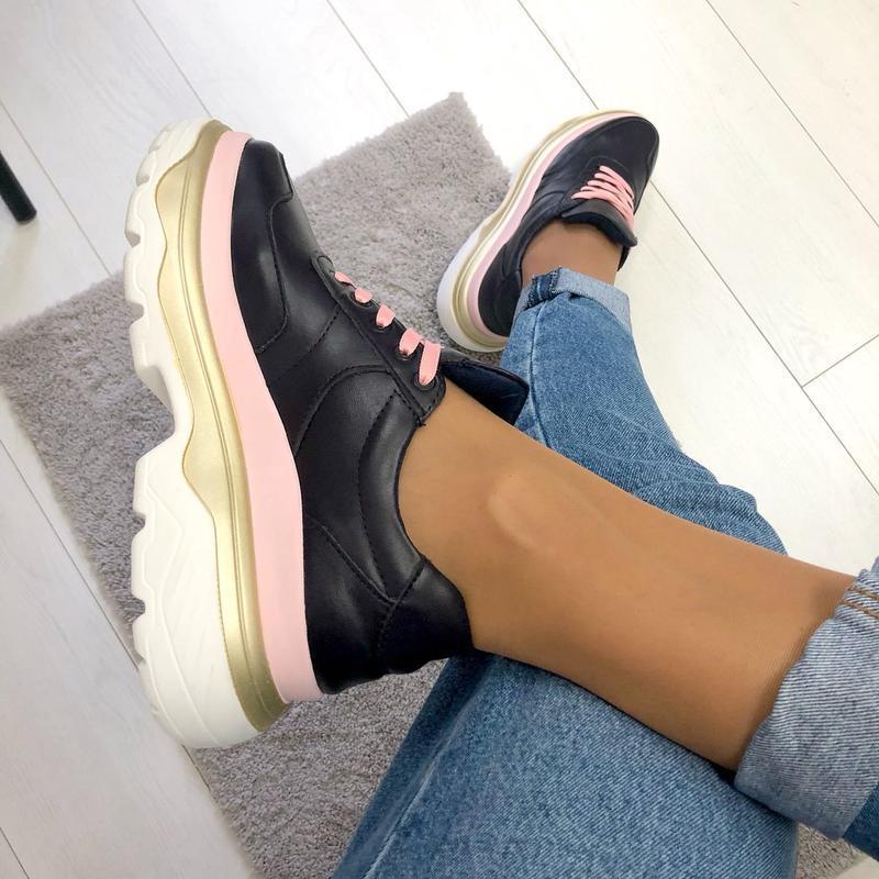 Женские кроссовки (в стиле баленсиага) - Фото 2