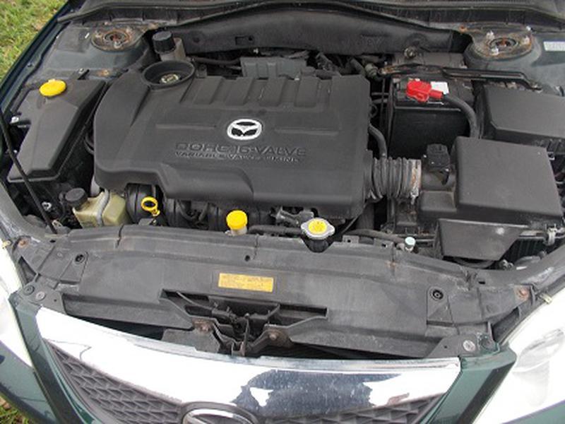 Б/у Двигатель в сборе Mazda 6 2.3
