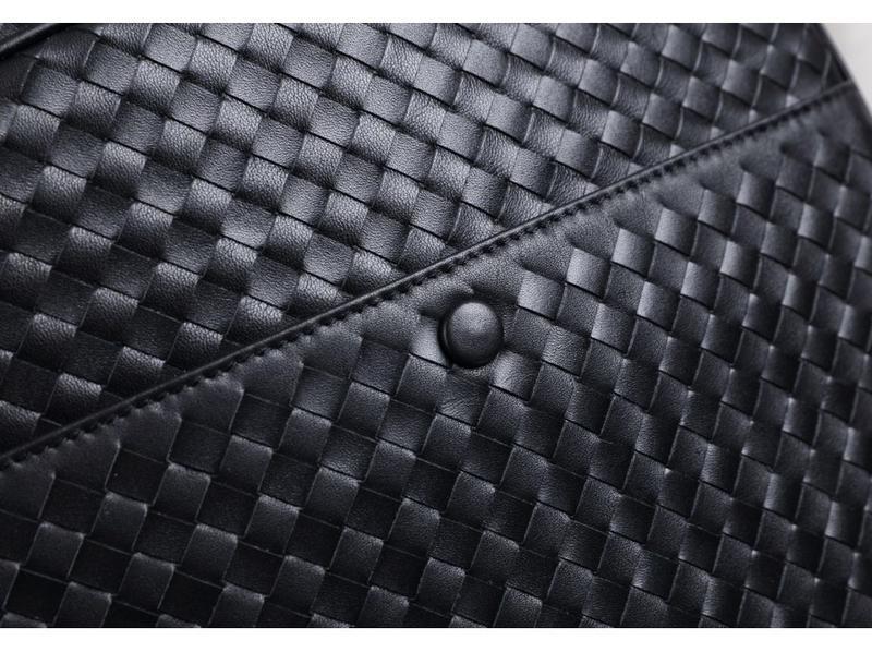 Мужской кожаный рюкзак стильный casual анатомическая дышащая с... - Фото 3