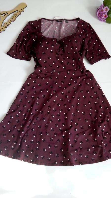 Платье 48 50 размер нарядное мини коктейльное короткое вечернее - Фото 2