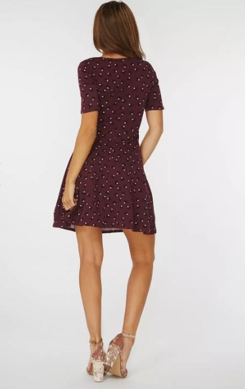 Платье 48 50 размер нарядное мини коктейльное короткое вечернее - Фото 4